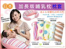 ☆Double Love ☆枕套來囉~【FB0001】日本sandexica加長加厚版孕婦枕套(產後必備日本授乳枕)