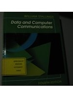 二手書博民逛書店 《Data and Computer Communications》 R2Y ISBN:0024154415│William