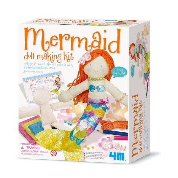 【4M】美勞創作系列-美人魚 Mermaid Doll Making Kit 00-02733