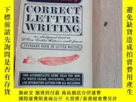 二手書博民逛書店the罕見lbantam book of correct letter writingY3142