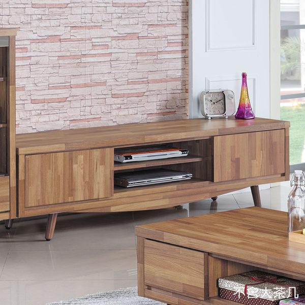 【森可家居】安德6尺電視櫃 7JX175-2 長櫃 木紋質感 無印北歐風