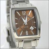 【萬年鐘錶】SIGMA日系 茶色經典時尚女錶 8801L-8