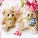 甜在心-小熊+棒棒糖禮物包-迎賓禮/二次進場/送客禮/來店禮/滿額禮-幸福朵朵婚禮小物