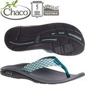Chaco ETW01_HD53綠鴨尾 女戶外運動拖鞋/夾腳拖 東山戶外