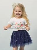 女童紗裙半身裙3歲寶寶春裝短裙嬰兒裙子兒童公主裙 洛小仙女鞋