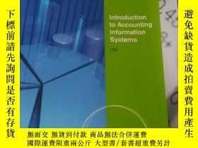二手書博民逛書店introduction罕見to accounting info
