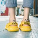 洞洞鞋女ins潮外穿防滑軟厚底果凍韓版沙灘鞋學生可愛時尚涼拖鞋