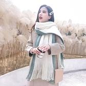 圍巾女百搭保暖日系秋冬季針織毛絨圍脖【奇妙商舖】