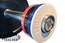 -槓鈴老師健身器材- 彩色金屬配重槓片  PLATES 5KG套裝組 重量訓練 健身器材