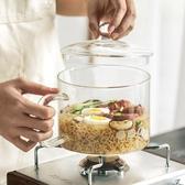 泡麵碗可加熱泡面碗帶蓋日式大容量易清洗微波爐可用網紅玻璃透明泡面碗【鉅惠85折】