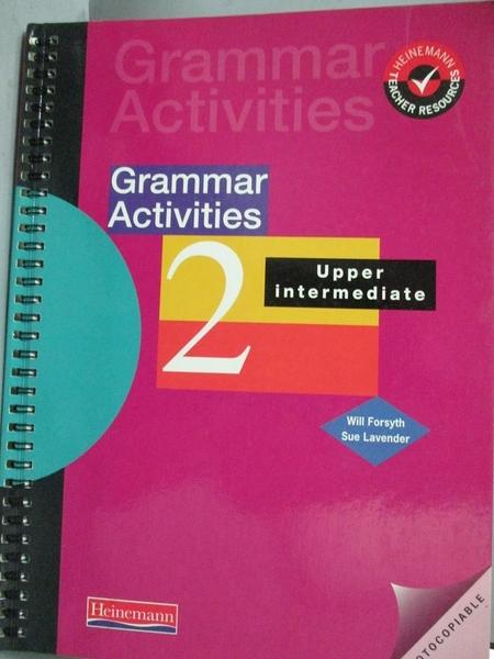 【書寶二手書T3/語言學習_QHT】Grammar Activities 2-Upper Intermediate_Wi