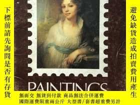 二手書博民逛書店Paintings罕見in Soviet postage stamps蘇聯郵票上的名畫Y193570 蘇聯郵