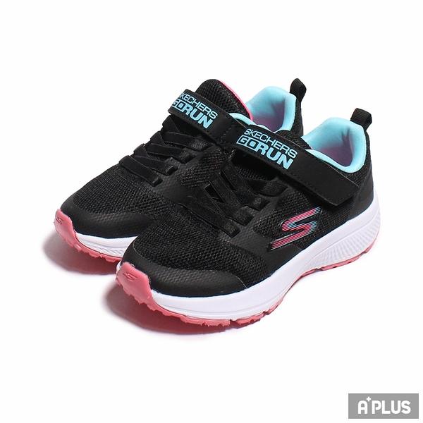 SKECHERS 童鞋 GO RUN CONSISTENT 黑粉-302409LBLK