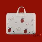 電腦包 筆記本電腦手提包適用蘋果筆記本電腦可愛內膽包女手提小清新女時尚好看的 vk4334