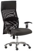 HP347-16 辦公椅/方塊布+黑網布/氣壓+後仰