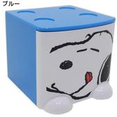 史努比Snoopy 積木式迷你收納盒積木盒收納箱置物盒飾品盒藍色   292858
