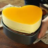 【巧廚烘焙_展藝心形蛋糕模具】不沾芝士蛋糕乳酪模烤箱用 6寸8寸【中秋連假加碼,7折起】