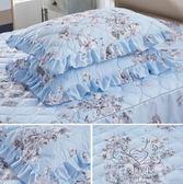 (百貨週年慶)枕頭套 棉質水洗棉枕套簡約棉質素面枕頭套單只條紋枕套