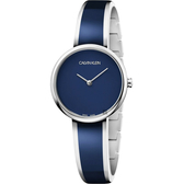 Calvin Klein CK Seduce 優雅時尚手環錶-藍/30mm K4E2N11N