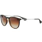 台灣原廠公司貨-【Ray-Ban雷朋】4171F-865/13 亞洲加高鼻墊款太陽眼鏡(#琥珀框-棕色鏡面)