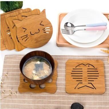 預購-動物造型木質隔熱餐墊