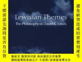 二手書博民逛書店Lewisian罕見Themes: The Philosophy