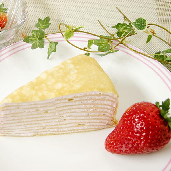 【北之歡】《四入草莓北海道千層蛋糕》 ㊣日本原裝進口~季節限定!