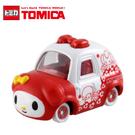 日本TOMICA多美小汽車 美樂蒂特別版紅色汽車 【JE精品美妝】