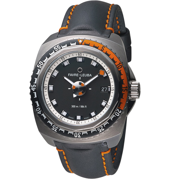 Favre-Leuba域峰表RAIDER系列DEEP BLUE腕錶 00.10106.09.13.41