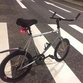 自行車 死飛自行車女活飛迷你20寸小輪學生賽車倒剎彩色男成人單車 JD 非凡小鋪