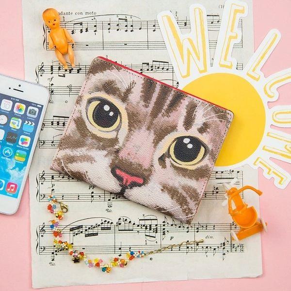 韓版清新可愛貓咪多功能皮革護照夾護照包證件夾-共4色-B290053-FuFu