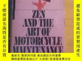 二手書博民逛書店Zen罕見and the Art of Motorcycle M