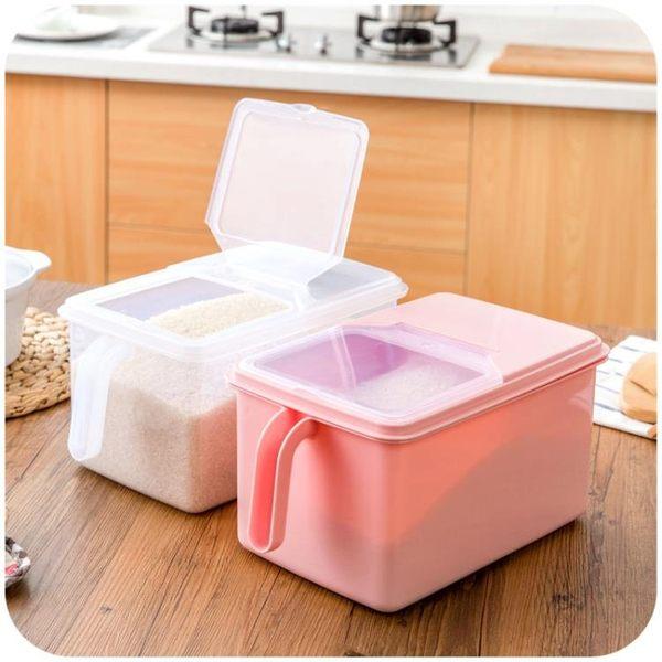 [超豐國際]防蟲防潮米桶廚房塑料密封箱 裝雜糧收納箱大號米缸儲米