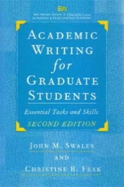 (二手書)Academic writing for graduate students : essential tasks and ski..