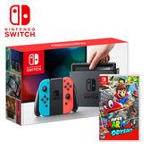 【NS 任天堂】Switch 紅藍主機+超級瑪利歐 奧德賽