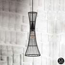 吊燈★簡約設計 優雅曲線單吊燈 (黑) ✦燈具燈飾專業首選✦歐曼尼✦