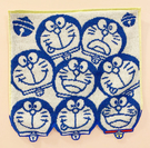【震撼精品百貨】Doraemon_哆啦A夢~哆啦A夢日本方巾/毛巾-多頭小叮噹#68891