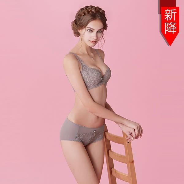 曼黛瑪璉-包覆提托Hibra大波內衣  F-H罩杯(華貴紫)