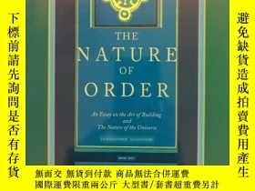 二手書博民逛書店The罕見Nature of Order: Book 1 - The Phenomenon of Life (布面