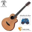 aNueNue M60E 36吋小吉他 可插電民謠吉他 單板紅松木+玫瑰木側背板 附贈anuenue原廠吉他袋