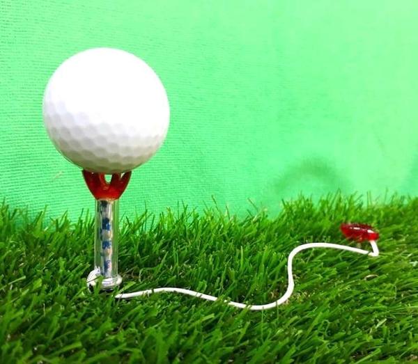 GOLF高爾夫子母磁性球TEE 顏色隨機 (4入)【AE10521】99愛買小舖