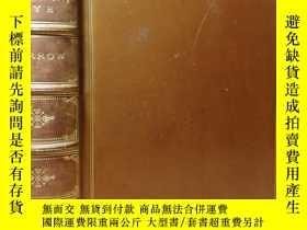二手書博民逛書店1900年罕見THE ROMANY RYE BY GEORGE