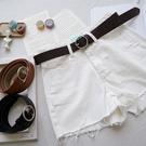 洋芋妹-復古銀色圓環腰帶 3色【SB12243】