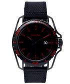 CK Calvin Klein Earth 撼動世界男性 型手飾品錶K5Y31ZB1 黑紅