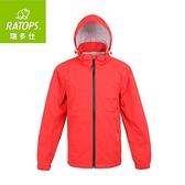 【瑞多仕 RATOPS 男 2.5layer防水透濕夾克《豔紅色》】RAW-103/保暖外套/風衣/旅遊