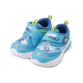 救援小英雄 POLI 波力頭燈運動鞋 藍 POKX10306 中童鞋