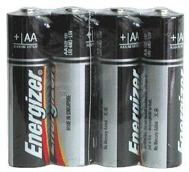 [奇奇文具] 【勁量 Energizer 電池】 勁量Energizer AA3號 E91 鹼性電池/勁量3號電池 (4入/封-收縮膜)
