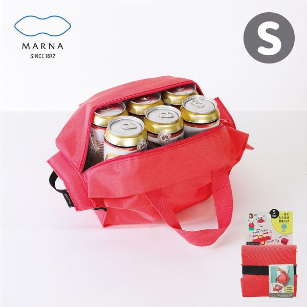 【MARNA】Shupatto系列環保收納保冷便當袋-S(顏色任選)
