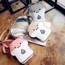 日系軟妹可愛動物玩味表情小倉鼠斜挎包包單肩包女包動漫