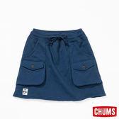 CHUMS 日本 女風格短裙 深藍 CH181060N001